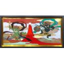 瀧下和之「富獄風神雷神図」のサムネイル画像