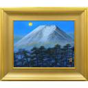 福王寺法林「寒月富士」のサムネイル画像
