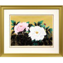中島千波「紅白牡丹図」のサムネイル画像