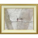 中野嘉之「雪中小禽」のサムネイル画像