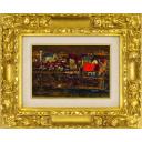 浮田克躬「河畔の村 (中部フランスの田舎にて)」のサムネイル画像