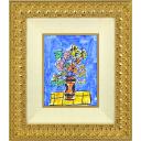ポール・アイズピリ「ブルーバックの花」のサムネイル画像