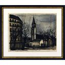 ベルナール・ビュッフェ「サンジェルマンデプレ No.35」のサムネイル画像