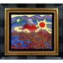絹谷幸二「日月潮音富嶽」のサムネイル画像