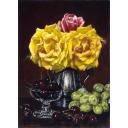 山中雅彦「薔薇と果物」のサムネイル画像