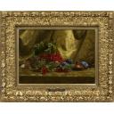 青木敏郎「朱い実のある静物」のサムネイル画像