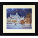 ミッシェル・ドラクロワ「虹のかかる教会」のサムネイル画像
