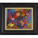 絹谷幸二「薔薇とレモン」のサムネイル画像