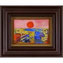 絹谷幸二「ローズ色の空」のサムネイル画像