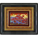 絹谷幸二「天空日月潮音富士」のサムネイル画像