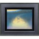 千住博「水辺朝陽」のサムネイル画像