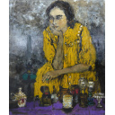 児玉幸雄「ランプを売る女」のサムネイル画像