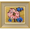 片岡球子「牡丹」のサムネイル画像