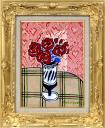 坂口紀良「卓上のバラ」のサムネイル画像