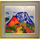 片岡球子「錦織りなす富士」のサムネイル画像