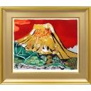 片岡球子「金色に輝く富士」のサムネイル画像