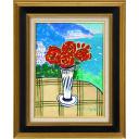 坂口紀良「アマルフィー海岸のバラのテラス」のサムネイル画像