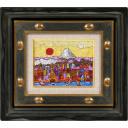 絹谷幸二「日月都遠望富士」のサムネイル画像