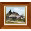 林喜市郎「春の丹波の家」のサムネイル画像