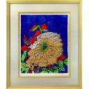片岡球子「富貴の牡丹」のサムネイル画像