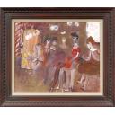 織田廣喜「バレーの少女たち」のサムネイル画像