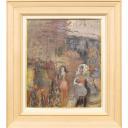 織田廣喜「サンドニの女達」のサムネイル画像