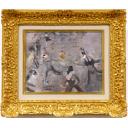 織田廣喜「踊り子たち」のサムネイル画像