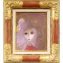 織田廣喜「少女(白いリボン)」のサムネイル画像