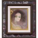 織田廣喜「青い目の少女」のサムネイル画像
