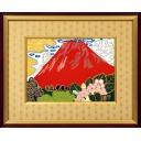 片岡球子「箱根 うつぎの咲く頃」のサムネイル画像
