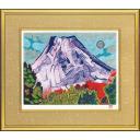 片岡球子「冬来多る富士」のサムネイル画像
