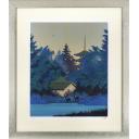 千住博「大和朝光」のサムネイル画像