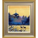 千住博「飛鳥懐光法起寺」のサムネイル画像