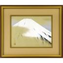小山硬「春雪富士」のサムネイル画像