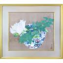 小倉遊亀「咲く」のサムネイル画像