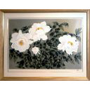 中島千波「白牡丹」のサムネイル画像
