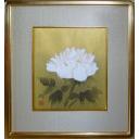 加山又造「白牡丹」のサムネイル画像