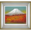 奥田元宋「富嶽秋耀」のサムネイル画像