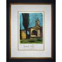 ベルナール・ビュッフェ「教会」のサムネイル画像