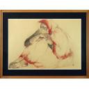 田村能里子「ひざを抱く女」のサムネイル画像