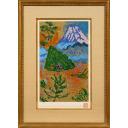 梅原龍三郎「三津浜の富士」のサムネイル画像