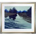 千住博「雨後の朝」のサムネイル画像