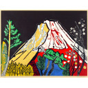 片岡球子「目出度き赤富士」のサムネイル画像