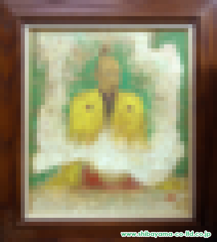 戸屋勝利「花太閤」s日本画10号
