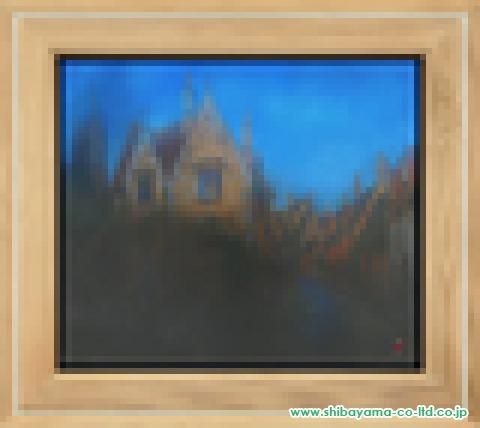 清水由朗「金星」日本画10号