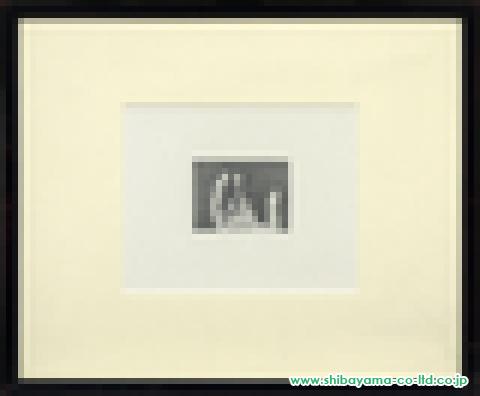野田弘志「男の手」鉛筆
