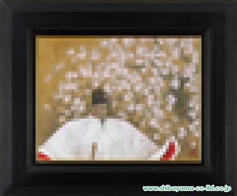 戸屋勝利「秀吉」日本画