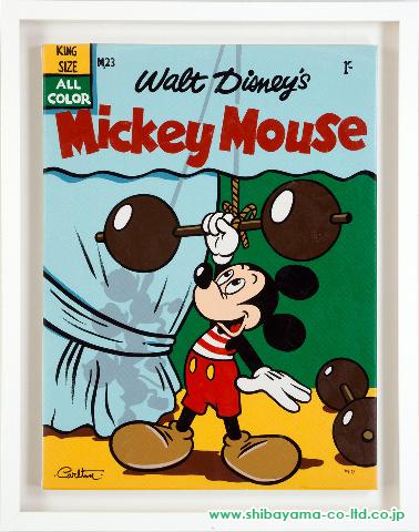 トレヴァー・カールトン「マッスル ミッキー Muscle Mickey」