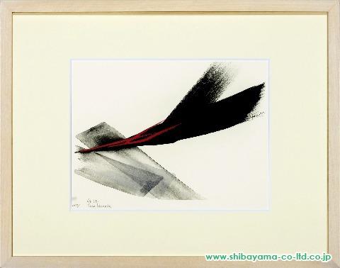 篠田桃紅「Arise」2001