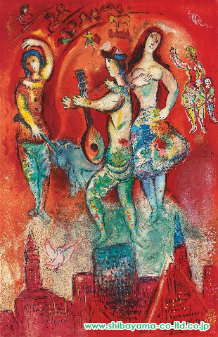 chagall_Carmen by Charles Sorlier